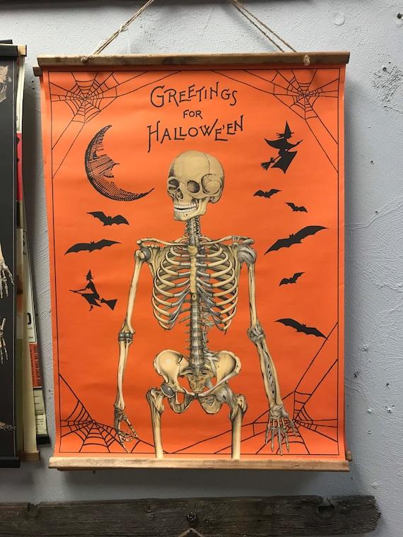 Handmade Greetings for Halloween Holiday Wall Hanging