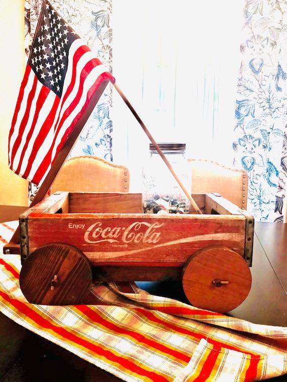 Coca-Cola Crate Wagon