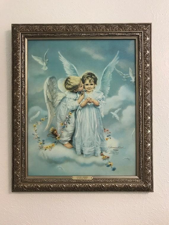 Angel Kisses Fine Art Glicee