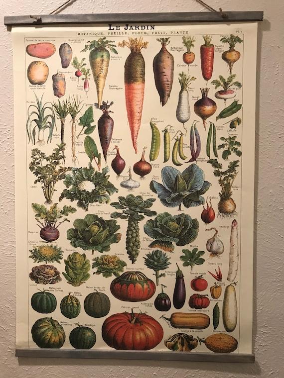 Handmade Vintage-inspired Le Jardin Wall Hanging