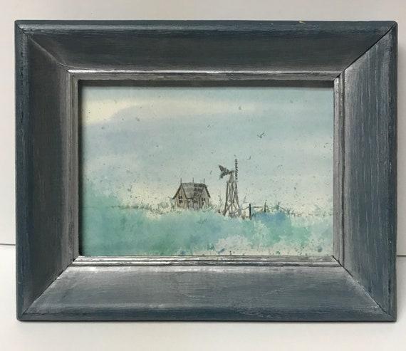 Framed Texas Prairie Print