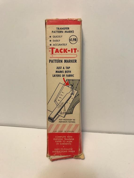Tack-It Pattern Marker