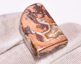 Loose Agate Copper Gemstone Pendant Necklace Jewelry Making Supply, Copper Agate Gemstone Mix Shape Gemstone Copper Agate Cabochon