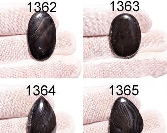 Psilomelane Gemstone Rare Psilomelane Gemstone Mix Shape For Jewelry Loose Psilomelane Cabochon Gemstone AAA+ Quality Gemstone