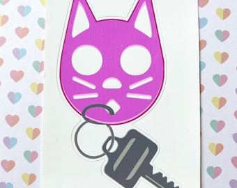 Self Defense Keychain Etsy
