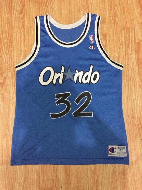 Vintage Shaquille O'neal Jersey Orlando Magic NBA