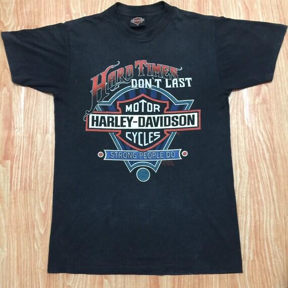 Vintage Harley Davidson 3D Emblem