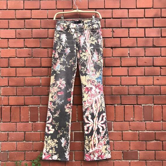 JustCavalli Floral Print Pants
