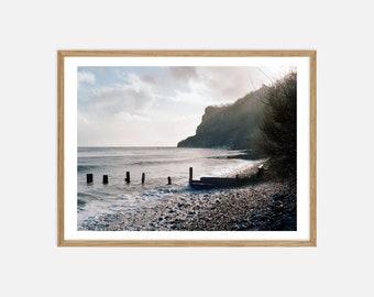 Fine Art Landscape Photography - Shanklin, Isle of Wight in Winter - Archival Pigment Print