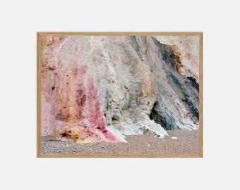 Fine Art Landscape Photography - The Needles Alum Bay Cliffs - Archival Pigment Print