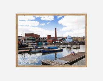 Fine Art Landscape Photography - Bristol Harbourside - Archival Pigment Print