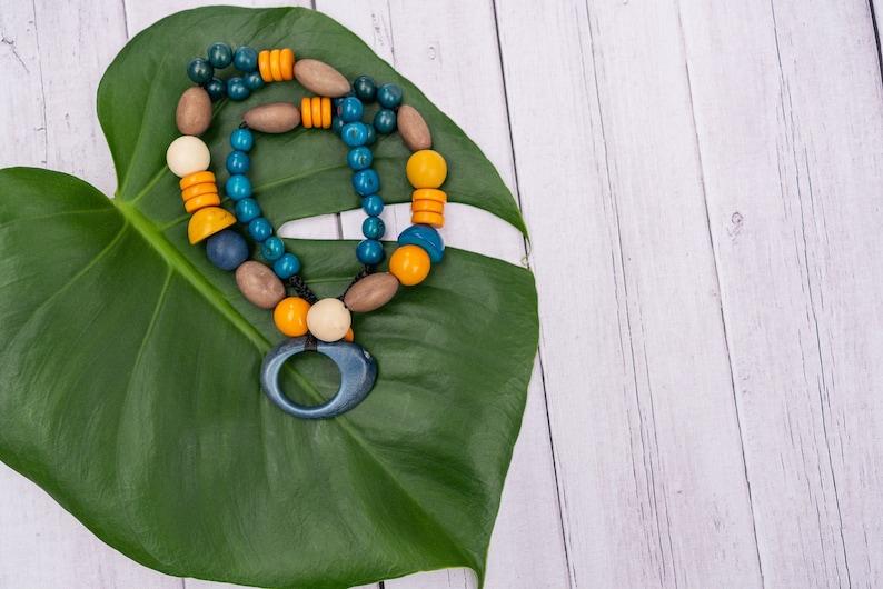 Handmade Tagua Nut Necklace Renata