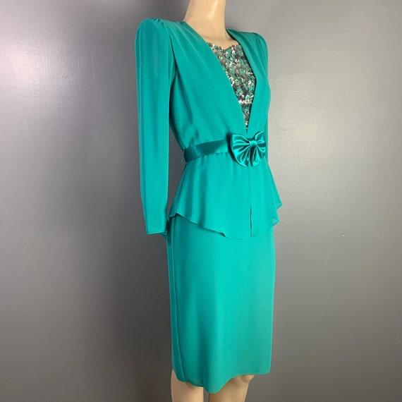 Vintage 80's Ursala of Switzerland  Dress