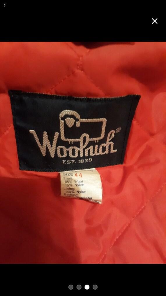 Vintage Woolrich Hunting jacket