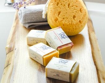 Soap Sampler Bundle - Bar Soaps | Essential oil soap, Natural Soap Sampler, Handmade Artisan Soap, Handcrafted Cold process soap