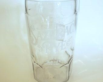 Sazerac Rye Whiskey - 750ml Hand Cut Upcycled Liquor Bottle Candle - Choose Your Scent