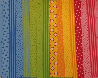 Fabric package with 2 meters Westfalenstoff Young line 0.25 cm x 0.73 cm