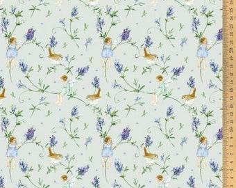 Cotton fabric lavender elves 145 cm wide Daniela Drescher Acufactum