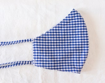 Cloth Face Mask - Gingham