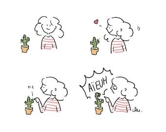 """Print """"Cactus"""""""