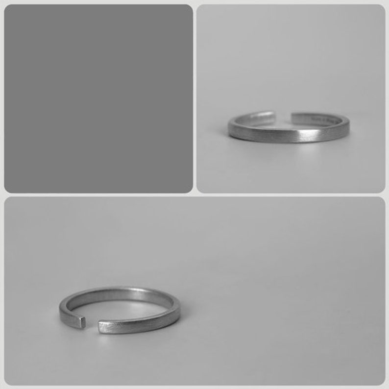 Minimalist Sliver Ring,Simple Ring,Dainty Rings,Plain Smooth Band,Thin Band