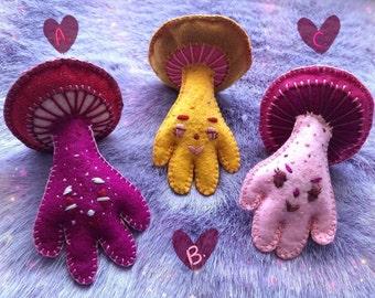 Mushroom Plush Etsy