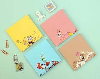Mini Spiral Memo Pad Spongebob Inspired ON SALE 3 x 5 inches