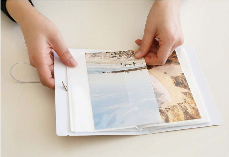 pocket album album for sticker or photo 4 colors  sticker book