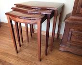 Nesting Tables, Vintage, Mid Century Modern