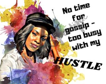 American Hustle Stickers   Redbubble