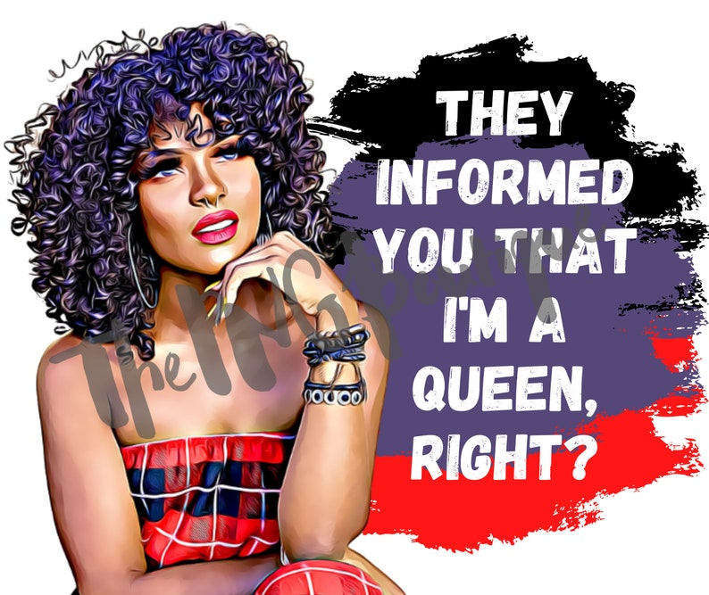 Svg files for cricut Black woman clipart Curly Hair Black woman image Black woman svg African American Woman Svg #They Informed You