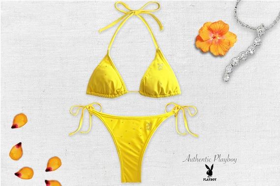 Sexy Playboy Bikini/ Vintage Playboy/ Halter Top B