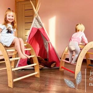 klimrek peuter indoor climbing triangle for toddler indoor slide jungle gym faroro jungle gym triangle salle de gym Klimrek binnen