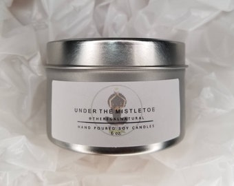 NEW Under the Mistletoe Hand Poured Soy Candle