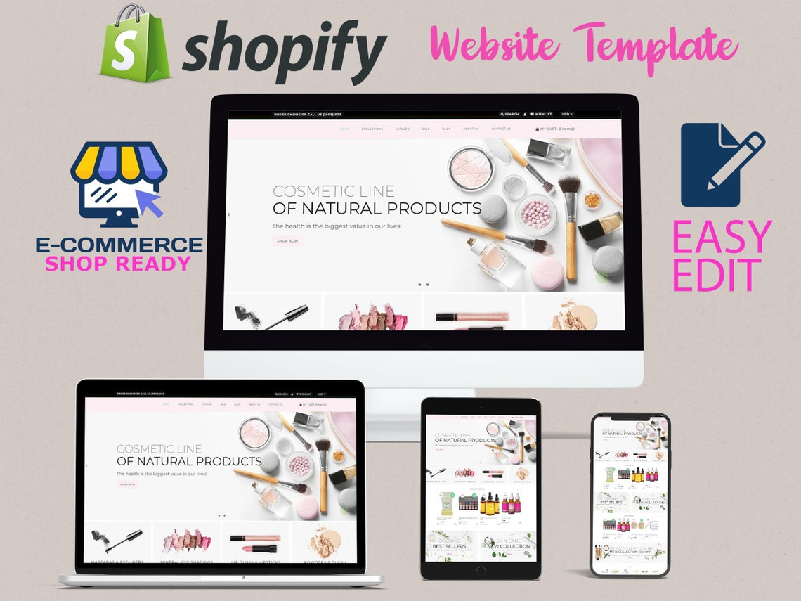 Shopify Theme Website Design Website Theme eCommerce Shopify image 0