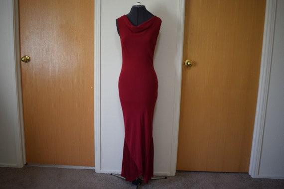 Vintage 1990s Laura Ashley Bias Cut Dress