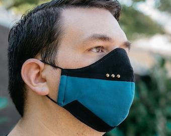 Star Trek TNG-Inspired Face Mask (Science Blue)