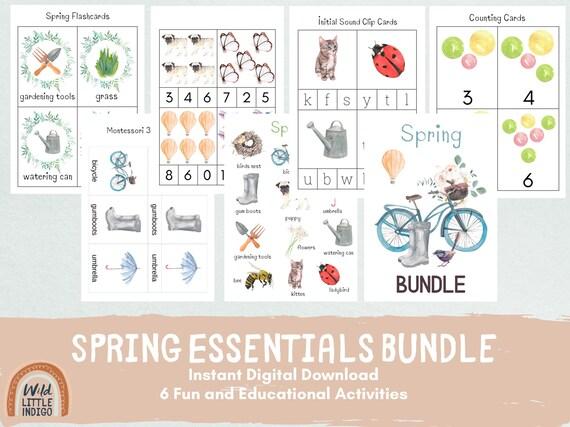 Spring Essentials Bundle Preschool Printable Preschool