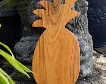 Teak Chopping/Serving Board Pineapple