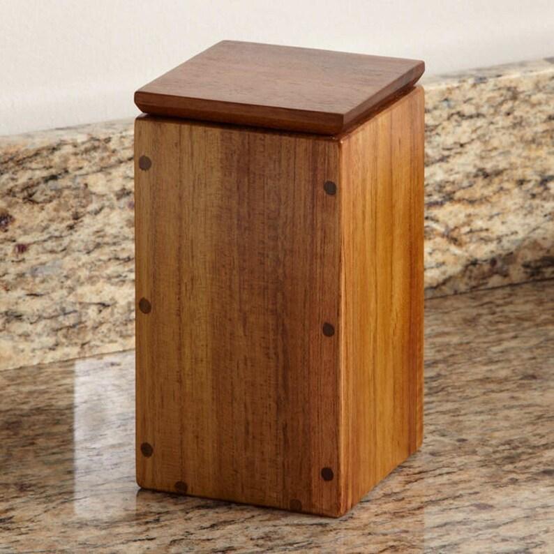 Teak Apothecary Box