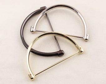 1pair   purse handle,handbag handle,bag handle,purse frame,handle,bag connector,craft handle,bag frame,Arch bridge