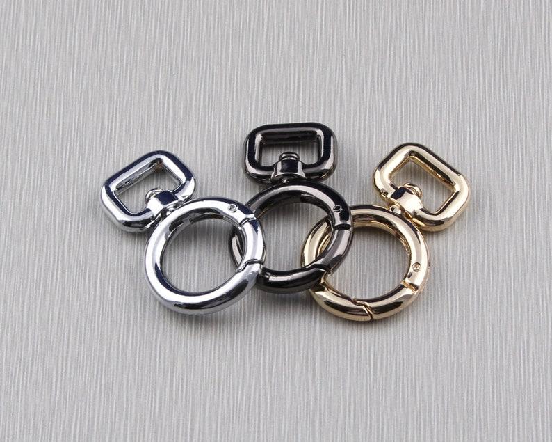 11mm swivel clasp,trigger hook swivel clips,push gate hook, purse clasp bag swivel clasp,lanyard clasp,webbing strap hook,purse hook