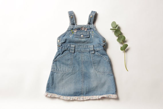 Vintage Girl Clothes age 2 years kids wear childr… - image 1