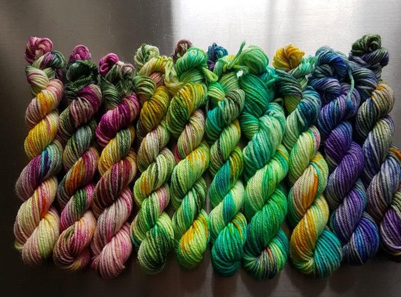 Arrival of Spring Fabulous Fade  DK Yarn 10 x 20g Mini image 1
