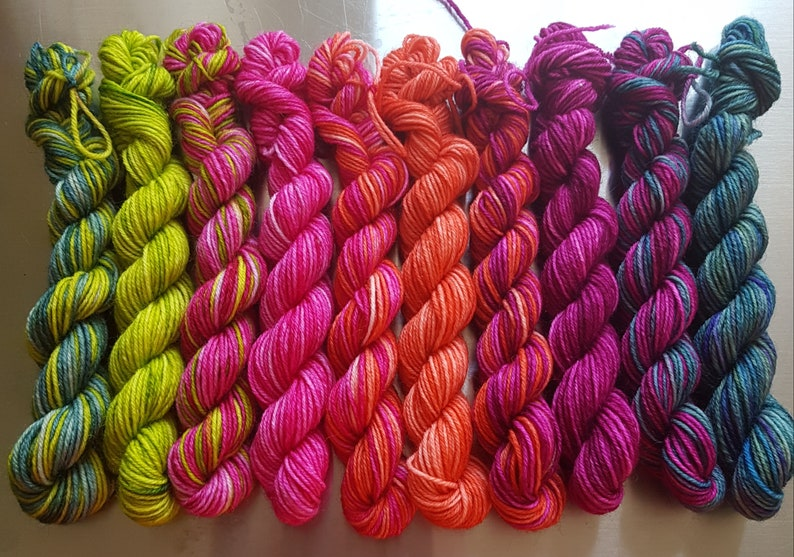 NEW Springtime  Wee Ones  Grab Bag Colourist's Yarn 10 x image 0