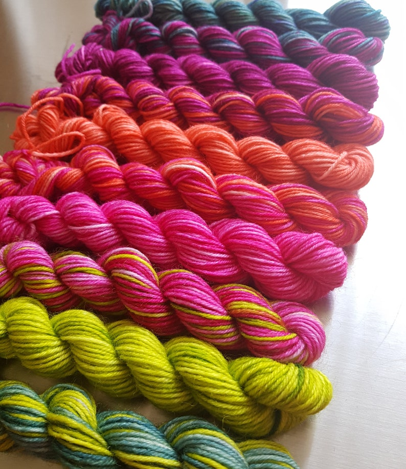 NEW Springtime  Wee Ones  Grab Bag Colourist's Yarn 10 x image 1