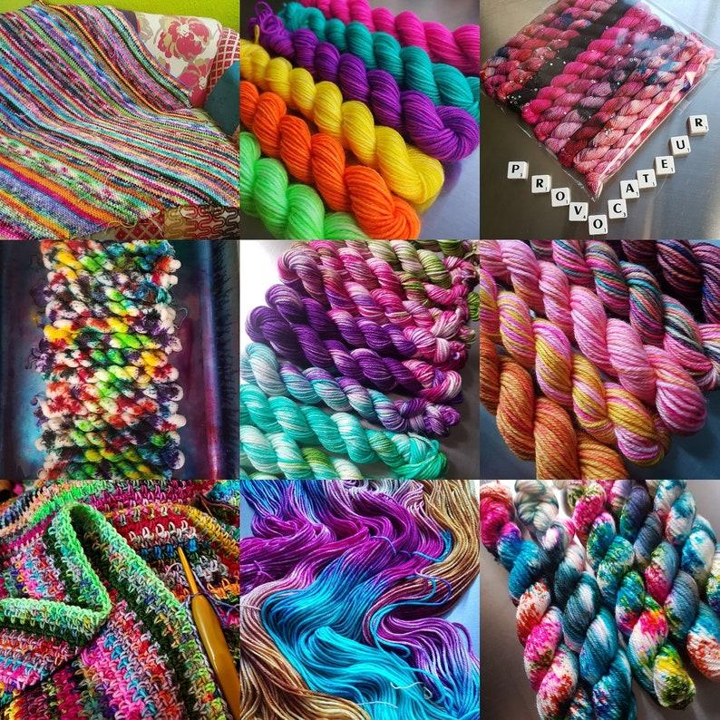 Pre Order April  Scrappy Blanket Club  Blanket Love Mini image 5