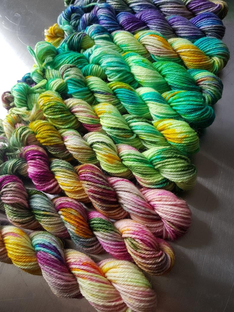 Arrival of Spring Fabulous Fade  DK Yarn 10 x 20g Mini image 0