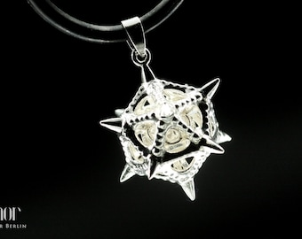 Pendant in silver - Morning Star