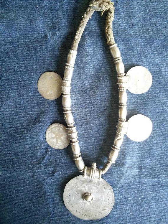 Antique Omani Silver Necklace